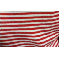 China 100% combed cotton yarn-dyed stripe jersey fabric on sale