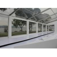 China PVC Fabric 40 X 50 Transparent Outdoor Wedding Tent / Wedding Party Tent on sale