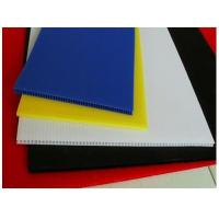 China 2-10mm Corflute PP Corrugated Plastic Sheet / sheet polypropylene on sale