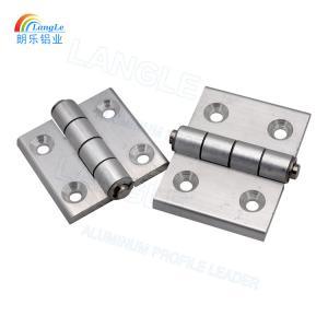 304 Stainless Steel Aluminium Profile Connectors Door Hinges Powder Coating Manufactures