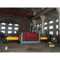 135 Kw Motor Hydraulic Baling Press Machine Cuboid Block Scrap Metal