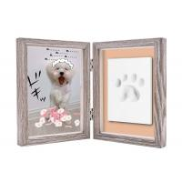 Paw Print Keepsake Frame Ornament , Non toxic Soft Light Pet Picture Frames Manufactures