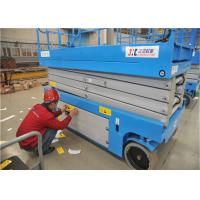 China Vertical 24V 3.3KW Pallet Scissor Lift 2520KG Weight Industrial Grade Movable on sale