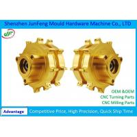 JF004 Steel Brass Turned Parts by Anodizing used for Auto / Car Manufactures
