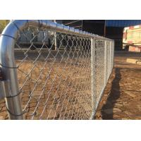 Chain Link Farm Gate 75x75mm 3.0MM Diameter Hot dipped galvanized Manufactures