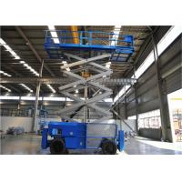 China 16m Mobile Self Propelled Scissor Lift Two Man Engine Powered For Tight Spaces on sale