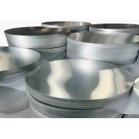 3002 / 3003 Aluminium Discs Circles With Polished  Bright Surface High Strength Manufactures