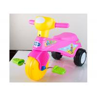 Colorful Plastic Kids Ride On Toys Tricycle Balance Sliding With Removable Pedal Manufactures