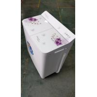 China 12kg Double  Tub Top Load Large Capacity Washing Machine With Hidden Panel on sale