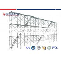 Quality Light Weight Tubular Steel H Frame Scaffold For Engineering Construction Q235 for sale