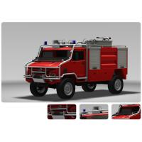 Emergency Fire Engine Vehicle For Fire Rescue 115km/H Highest Speed Manufactures