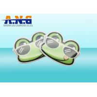 Circular Reusable Waterproof HF rfid key tag with Epoxy Resins Material Manufactures