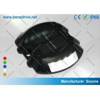 Road Markers Reflectors Solar Delineator Stud Outdoor Alarm Light Aluminum Shell IP68 Manufactures