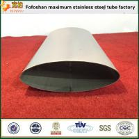 Elliptical Tube Stainless Steel Welding Tube For Oil Or Chemical Manufactures