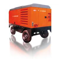 Large Capacity Portable Rotary Screw Air Compressor 132KW 17m³/Min Low Oil Content Manufactures