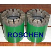 HTW Diamond Core Drill Bits For Soft To Hardness Rock Formation Exploration Core Drilling Manufactures