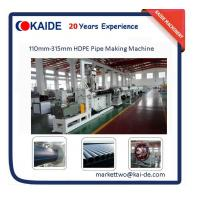 China China Cheap HDPE Pipe Making Machine 110mm-315mm lower price on sale