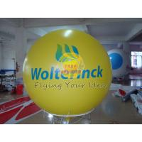 Inflatable advertising helium balloons with 540*1080 dpi high resolution digital printing Manufactures