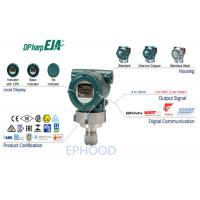 EJA530E In Line Mount Differential Pressure Transmitter 90 Ms Response Time Manufactures