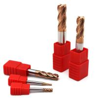 2/4 Flute HRC50-55 Tungsten Carbide Steel End Mill Cutting Tools Manufactures