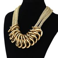 2015 Fashion Retro CCB punk chain chunky Pendant necklaces New Statement Necklace Manufactures