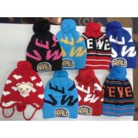 12000 pieces kids knitting winter hat Fashion Beanies stock Manufactures