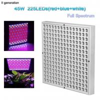Indoor Greenhouse Led Grow Lights Panel PC Cover With 10W Wattage Manufactures