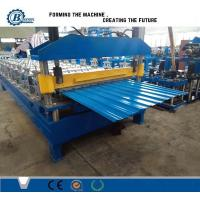 Hydraulic Cutting Roof Panel Roll Forming Machine Manufactures