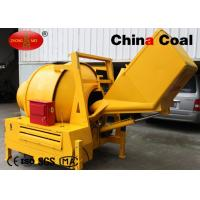 China Yellow Building Construction Equipment 300 L Electric Concrete Mixer Rental With 5.5kw Motor on sale