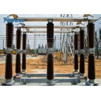 China Outdoor Disconnect Switch Substation Double Side Break Hv Disconnect Switch 145kV on sale