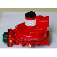 Red Color Fisher R622H LPG High Pressure Gas Regulator Use For Cooking , Long Life Manufactures