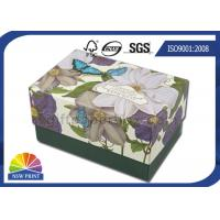 Small Hard Paperboard Luxury Gift Box Packaging For Bath Bomb / Soap / Candle Manufactures