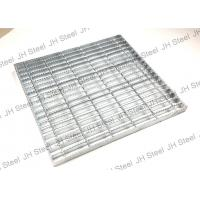 Light Duty Riveted Steel Flat Bar Grating Astma 36 Press Lock Steel Grate Manufactures