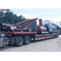 China 8 Ton Coal Fired Steam Boiler / Wood Fired Boiler For Paper Plant Factory on sale