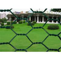 2 inch Woven PVC Coated Rabbit Wire Netting With Low Carbon Steel 3/4'' Galvanized Manufactures