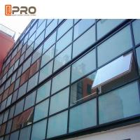 Exterior Structural Insulated Glass Curtain Wall Double Glazed Window Manufactures