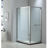 Foldable shower enclosure 900*900mm with 304 stainless steel & tempered clear glass Manufactures