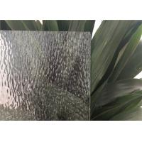 China Curve / Flat Textured Glass Sheets, Obscure Frosted Patterned Glass on sale