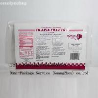 Eco-friendly Laminated Frozen Food Bags Food Grade Heat Sealed For Fish / Seafood Manufactures