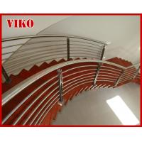 Steel Cable Stair VK85SC  304 Stainless Steel Handrail  Treed American Oak  Carbon Steel Powder-coate   Aluminum Manufactures