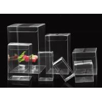 PET folding box packaging  PP plastic packaging box custom PVC transparent plastic packaging box Manufactures