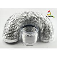 Airtight Foil 250mm Kitchen Vent Hood Ducting Smooth Flame Proof Manufactures