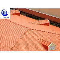Construction Plastic Roof Tiles Sheets / Corrugated Plastic Panels