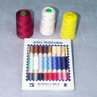 100% Spun Sewing Threads Made of Polyester Material Manufactures