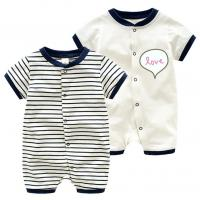 Discount baby Rompers high quality and cheap price 100%cotton baby clothing Manufactures