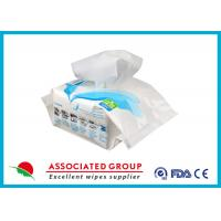 Toilet Adult Wet Wipes Antibacterial , Incontinence Disposable Bath Wipes