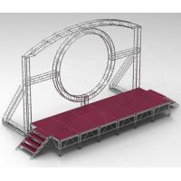 DMX One Channel Aluminum Rotary Circle Stage Llighting Truss For Dj Moving Head LED Manufactures