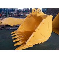China Wheeled Excavator Rock Bucket Extension CAT336 V Ditching Bucket With 6 Teeth on sale