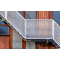 China Decorative Perforated Aluminum Metal Sheet Fence Perforated Facade Panel on sale