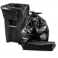 Buy cheap Durable 65 Gallon Trash Bags , Black Disposable Recyclable Rubbish Bags from wholesalers